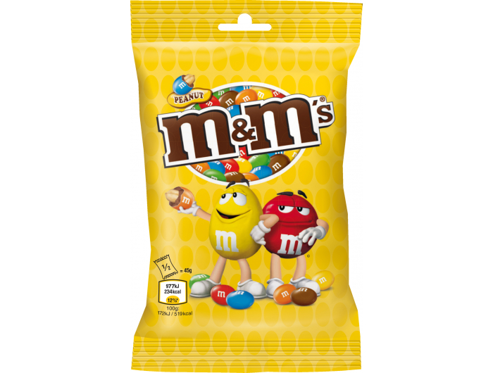 M&M's Bomboni s čokoladom i kikirikijem 90 g