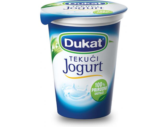 Dukat jogurt tekući 2,8% m.m. 180 g