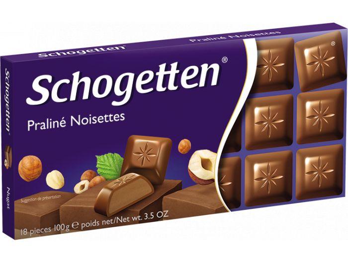Schogetten čokolada noisettes 100 g