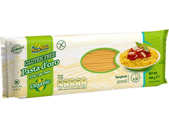 SamMills tjestenina spaghetti kukuruzni bez glutena400 g