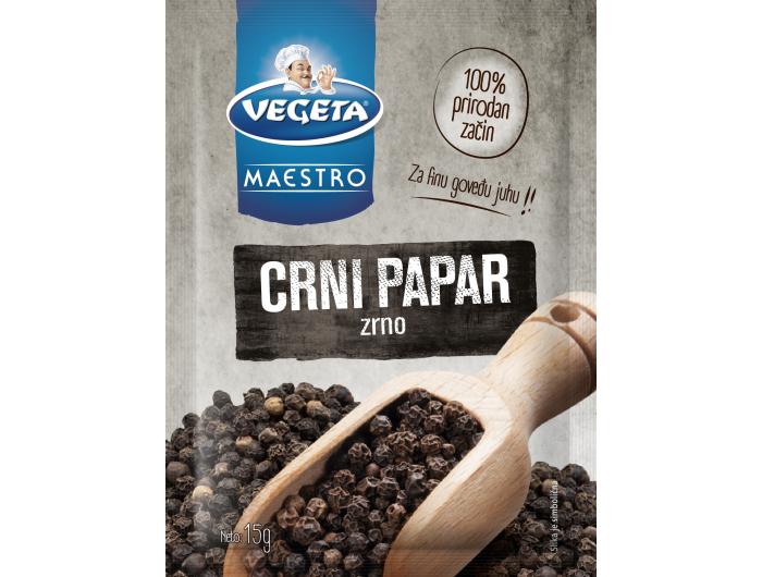 Vegeta maestro crni papar u zrnu 15 g