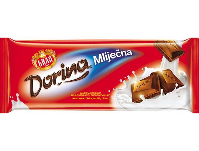 Kraš Dorina čokolada mliječna 250 g