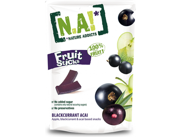 N.A! voćni prutići jabuka crni ribiz acai bobice 35 g
