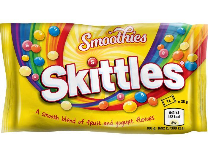 Skittles smoothies bomboni 38g