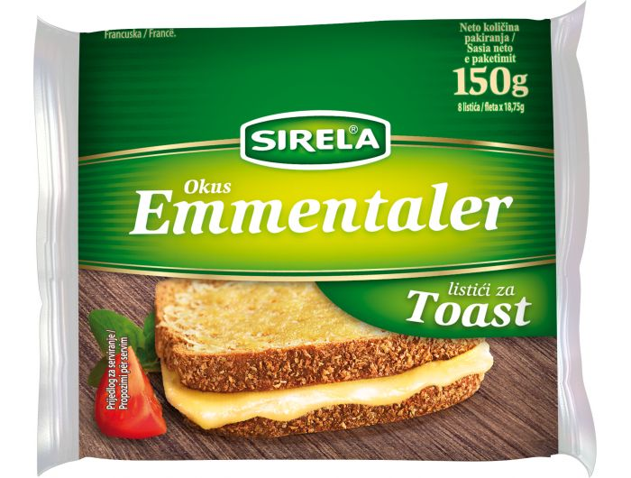 Dukat Sirela Emmentaler topljeni sir 150 g