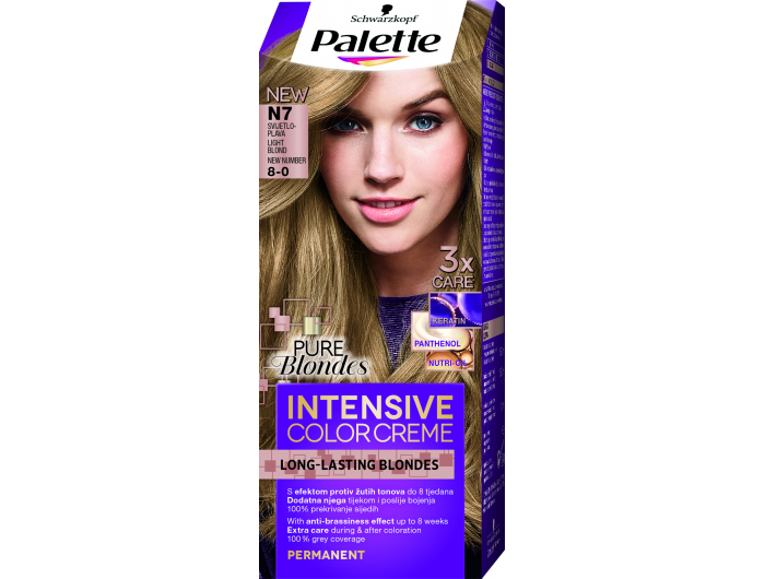Palette Boja za kosu svijetlo plava 1 kom