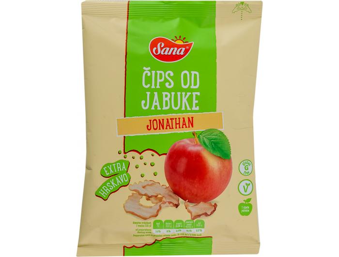 Sana čips od jabuke Jonathan 20 g