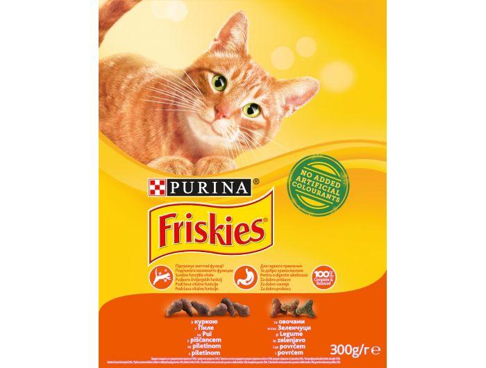 Friskies hrana za mačke piletina i povrće300 g
