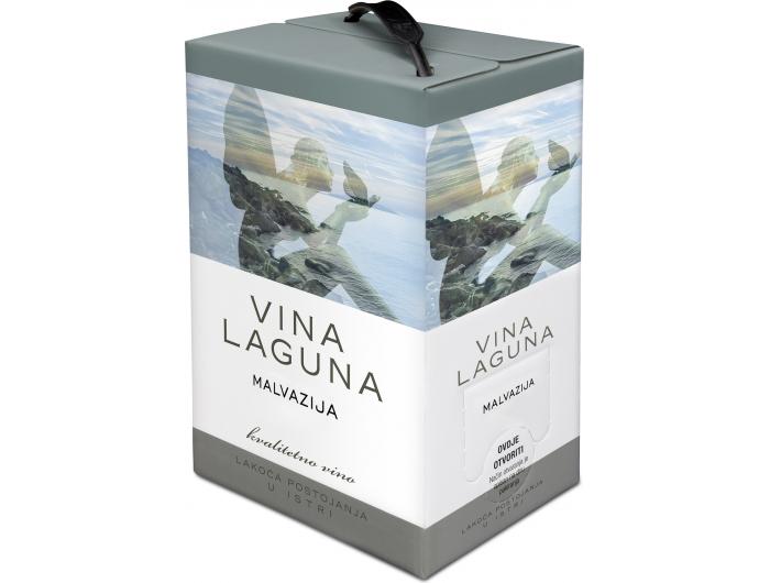 Vina Laguna Malvazija kvalitetno bijelo vino 3 L