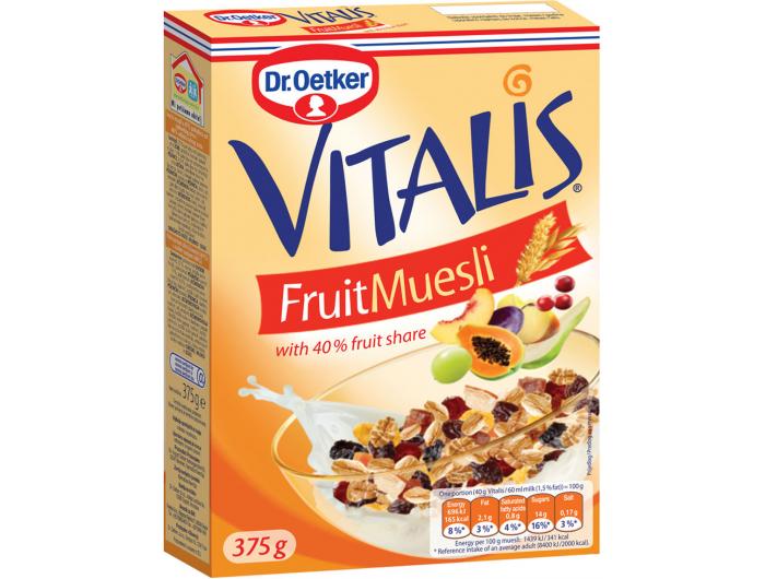 Dr. Oetker Vitalis voćni muesli 375 g