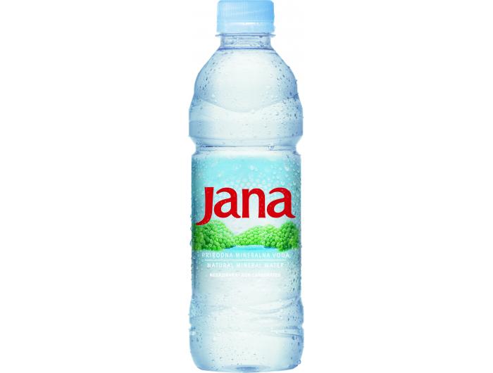 Jana prirodna mineralna negazirana voda 0,5 L