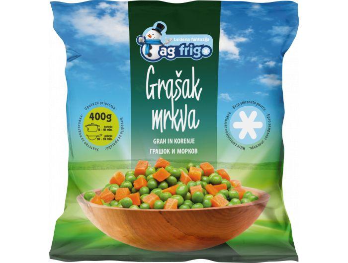Ag Frigo grašak i mrkva 400 g
