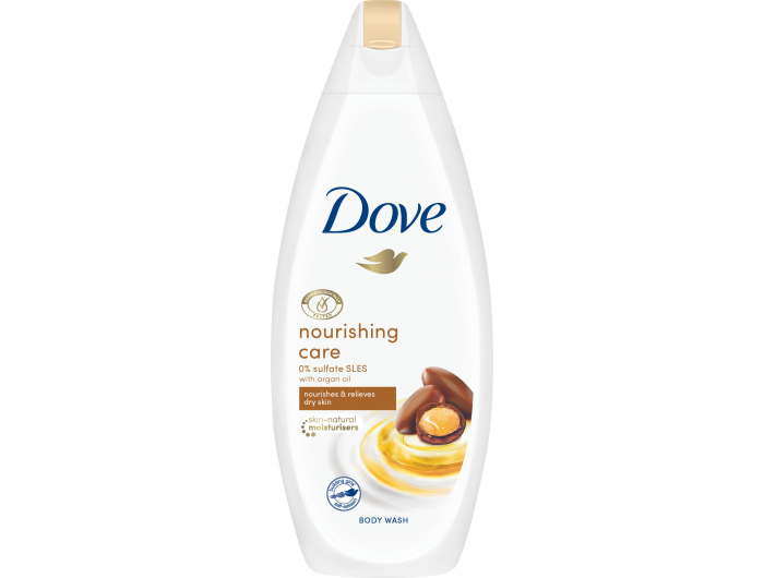 Dove gela za tuširanje Nourishing Care & Oil 250 ml