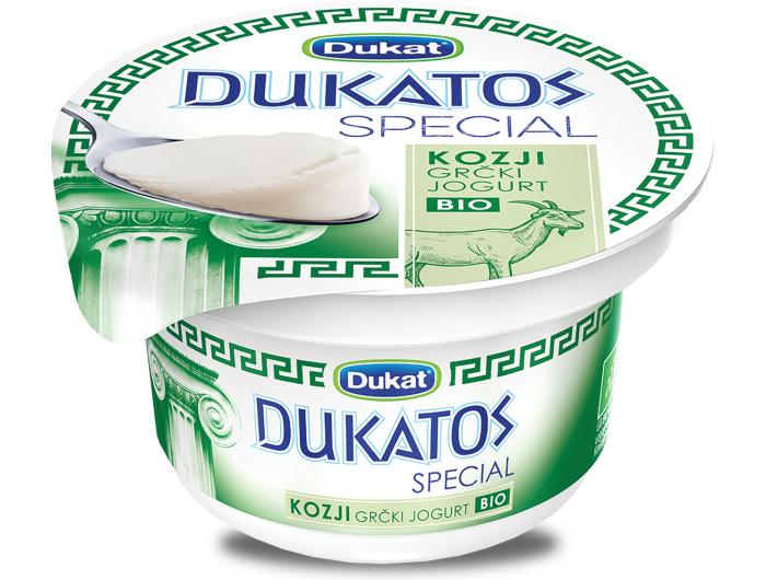 Dukat Dukatos special kozji grčki jogurt eko 150g