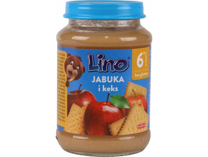 Podravka Lino Dječja kašica jabuka i keks 190 g
