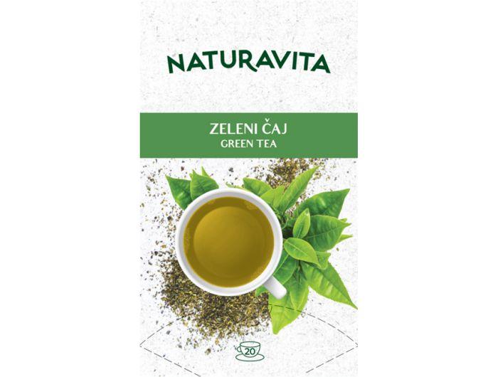 Naturavita zeleni čaj 20x2g