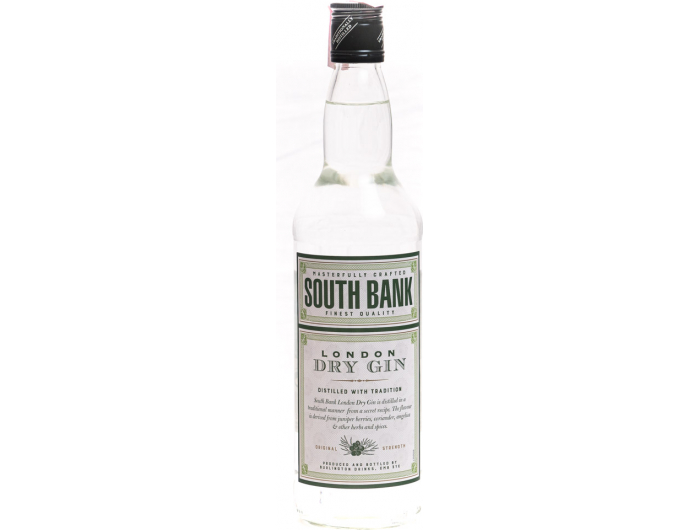 South Bank London dry Gin 0,7 L