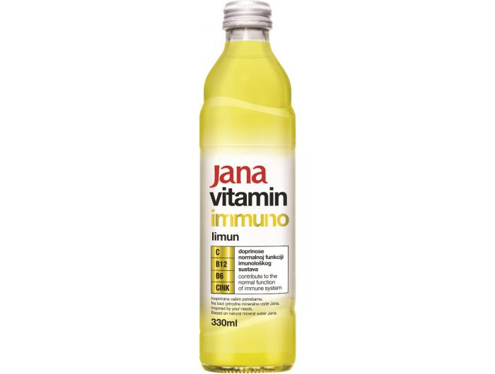 Jana vitamin Immuno limun 0,33 L