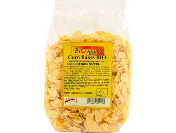 BiOrganic cornflakes BIO 400 g