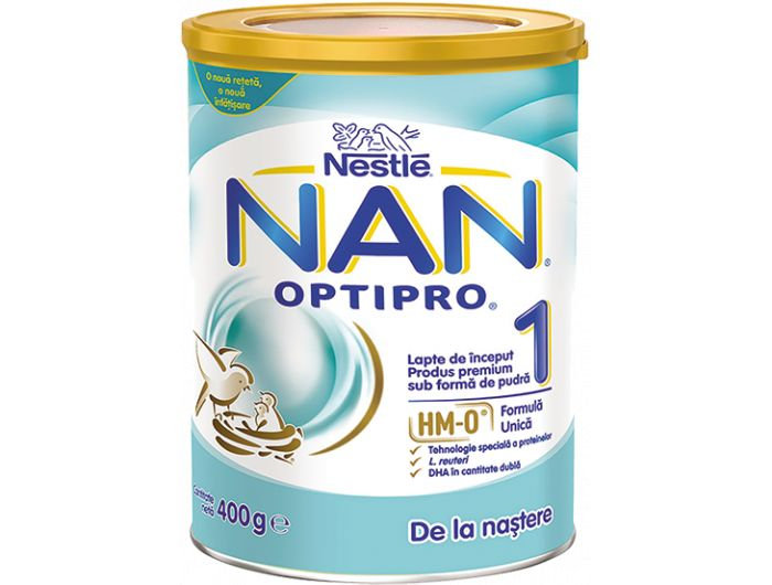 Nestle Nan Optipro mliječna hrana za dojenčad 400 g