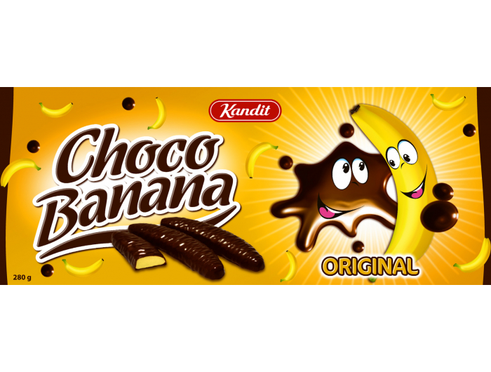 Kandit Choco Banana čokoladni desert 280 g