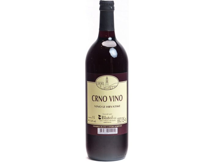 Blato Korčulansko crno vino 1 L