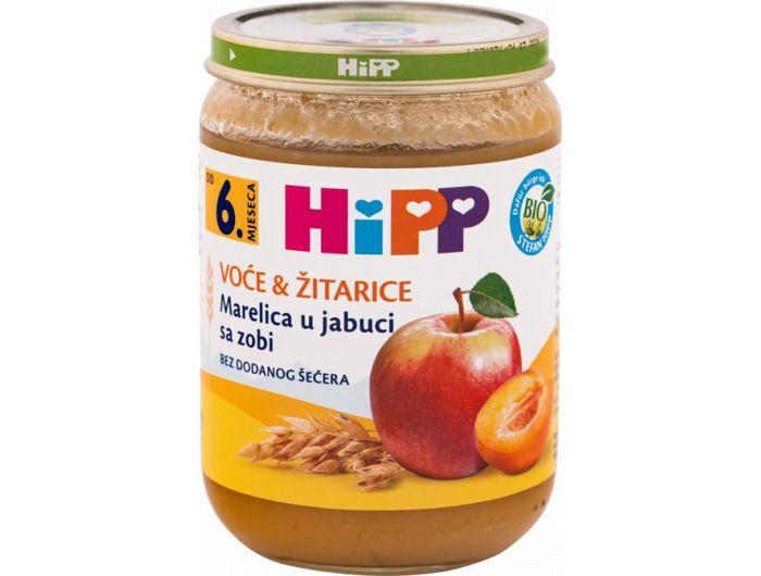 Dječja hrana, 190 g, kruška/jabuka/pir, Hipp