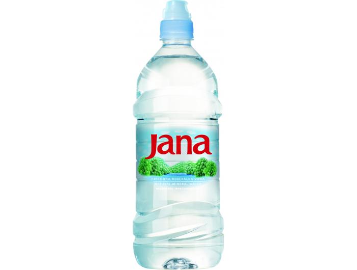 Jana prirodna mineralna negazirana voda 1 L
