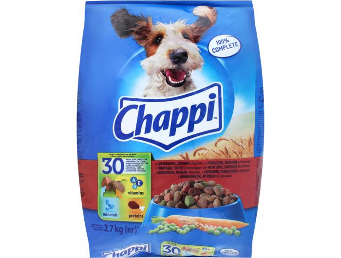 Chappi hrana za pse govedina i piletina 2,7 kg