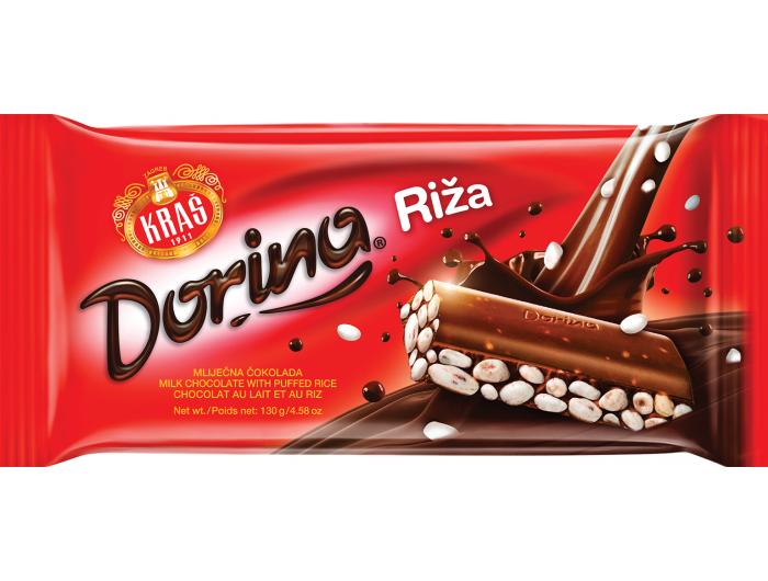 Dorina Čokolada s rižom 75 g