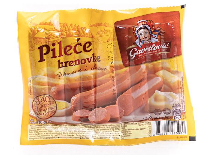 Gavrilović pileće hrenovke 200 g