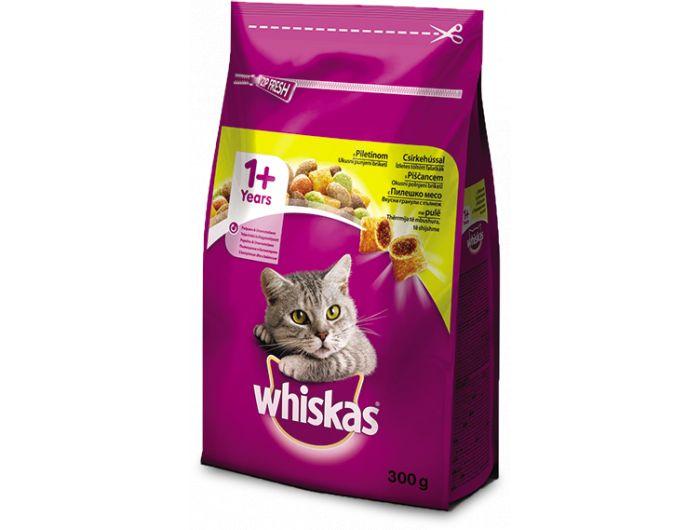 Hrana za mačke, 300 g, piletina i povrće, Whiskas