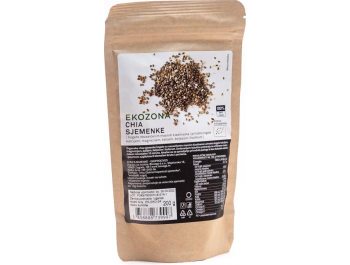 Ekozona BIO chia sjemenke 200 g