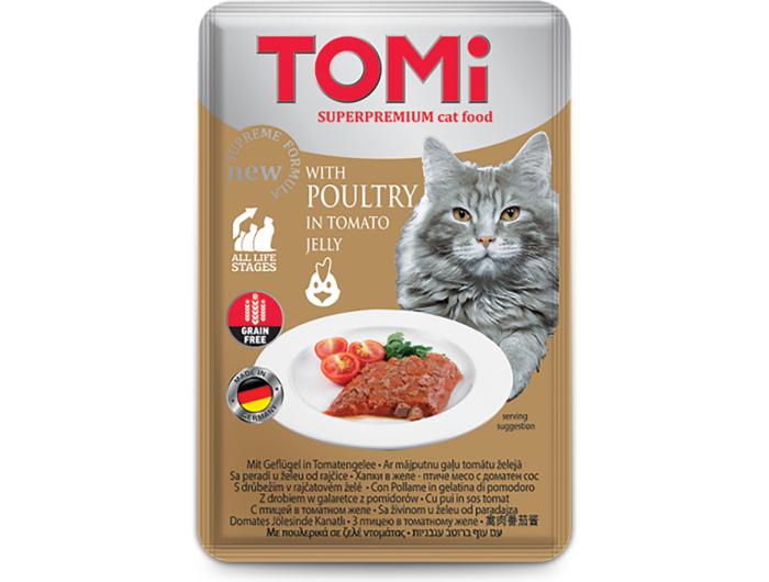 Tomi hrana za mačke perad u umaku odrajčice 100 g