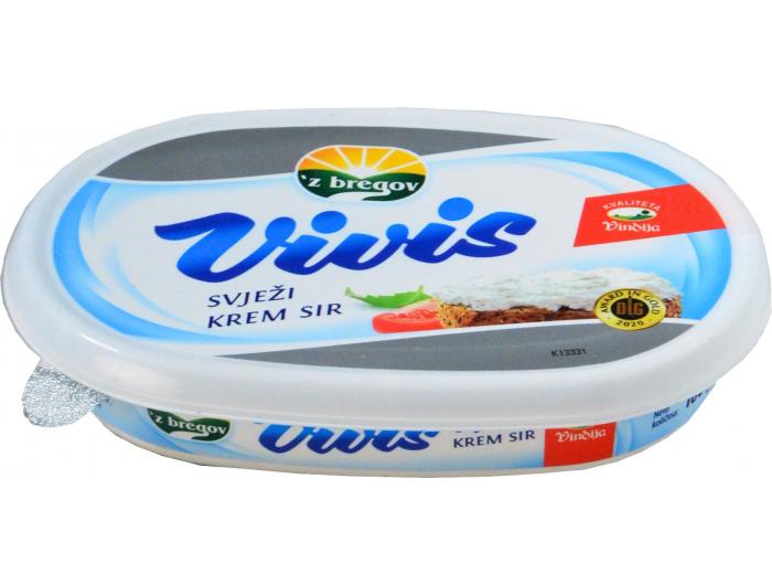 Vindija Vivis 'z bregov svježi krem sir original 100 g