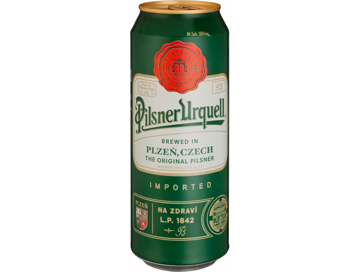 Pilsner Urquell Pivo 0,5 L