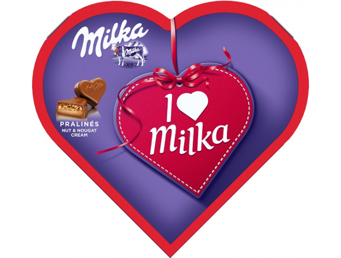 I Love Milka Praline s kremom od lješnjaka 44 g