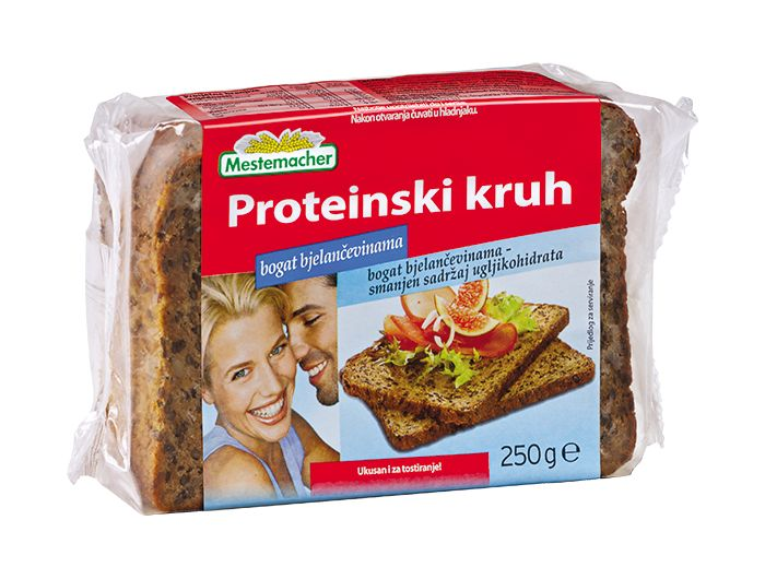 Mestemacher kruh proteinski 250 g