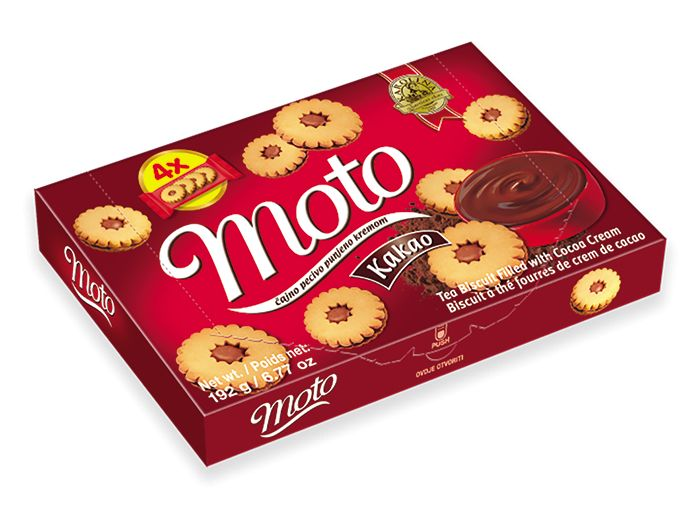 Kraš Karolina Moto keks kakao 192 g