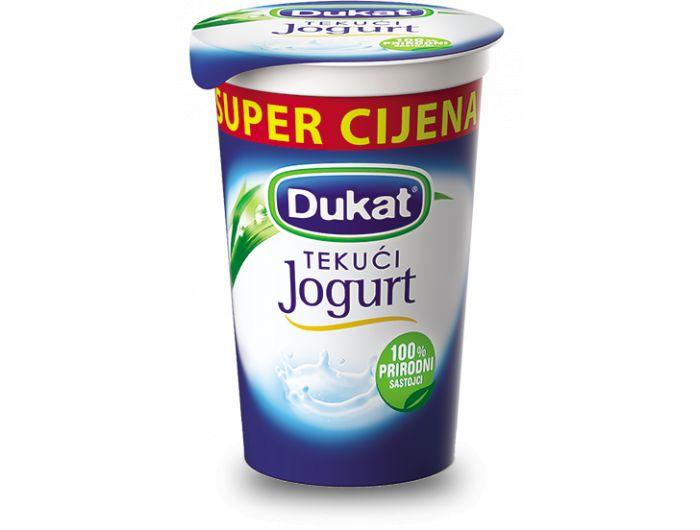Dukat jogurt tekući 2,8% m.m. 230 g