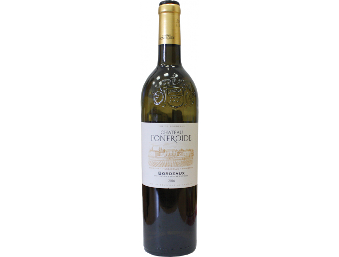 Chateau Fonfroide Bordeaux Vino bijelo Francuska 0,75 L