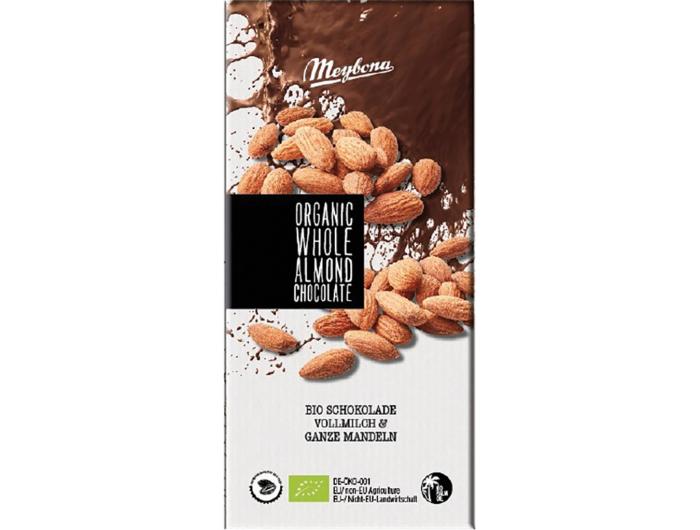 Meybona BIO mliječna čokolada sbademom 100 g