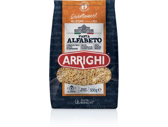 Arrighi tjestenina slova br.102 500 g