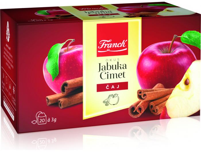 Franck čaj jabuka i cimet 60 g