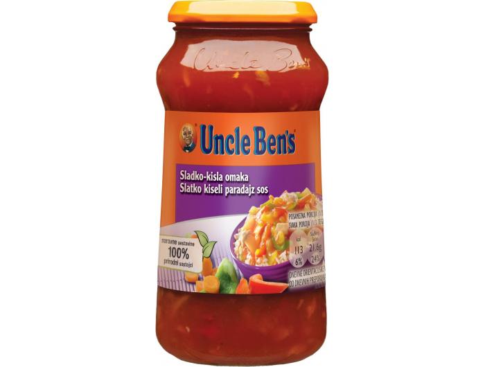 Uncle Ben's slatko-kiseli umak 400 g
