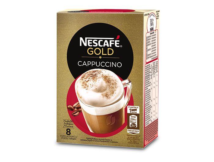 Nescafe original instant cappuccino 1 pak 148 g