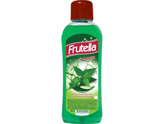 saponia Frutella šampon za kosu kopriva 1 L