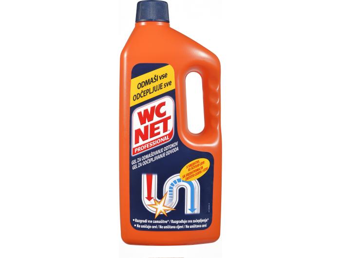 WC Net gel za odčepljivanje odvoda 1 L