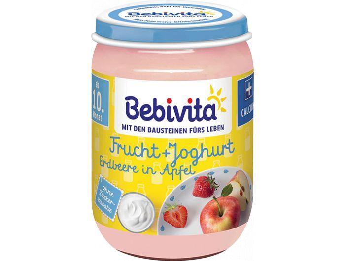 Rižini krekeri s okusom jabuke, maline i jogurta, 30 g, Bebivita
