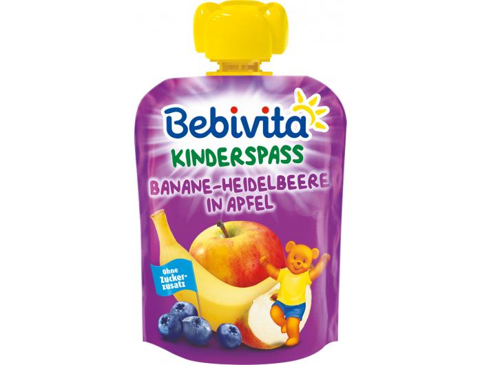 Bebivita Dječja kašica jabuka i banana s borovnicom 90 g